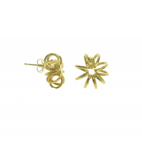 Fraying Flower Earring (GE-1005)