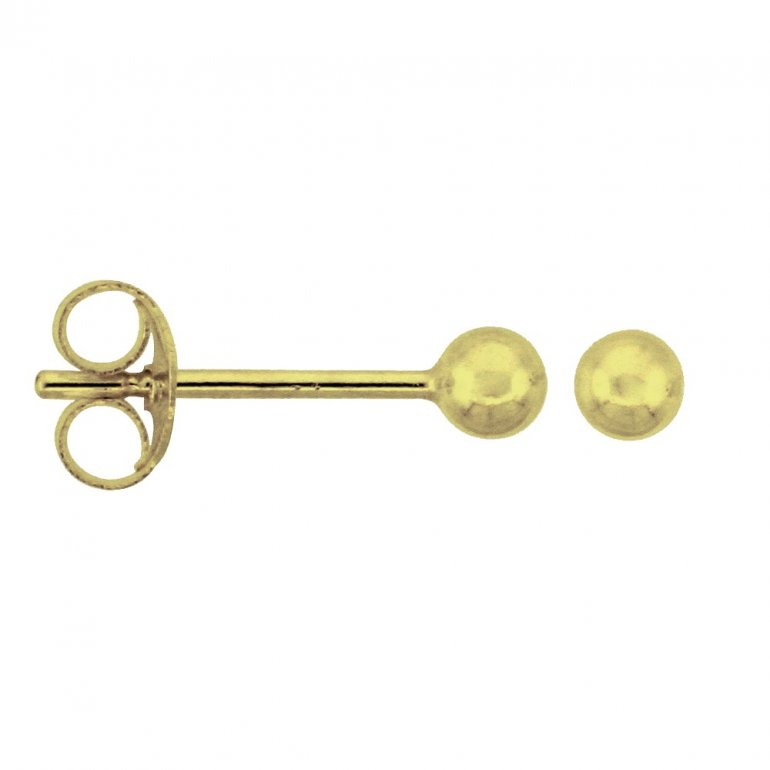 Gold Baby Pearl Earring (GBE-1054) - House of Jewellery