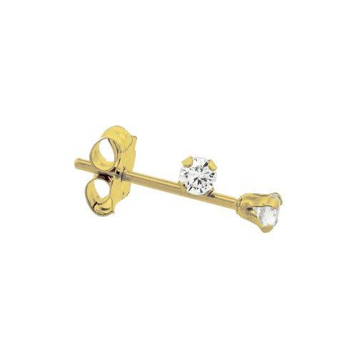 Gold Baby CZ studs (GBE-1057)