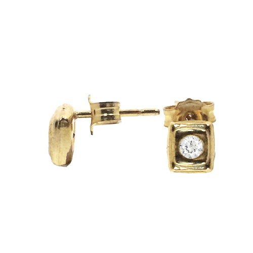 Baby CZ Square Studs (GBE-1059)
