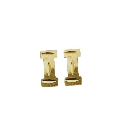 Plain Baby Pillar Studs (GBE-1060)