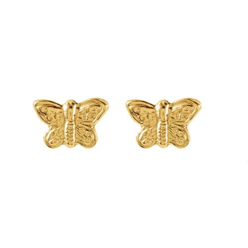 Plain Baby Butterly Studs (GBE-1061)
