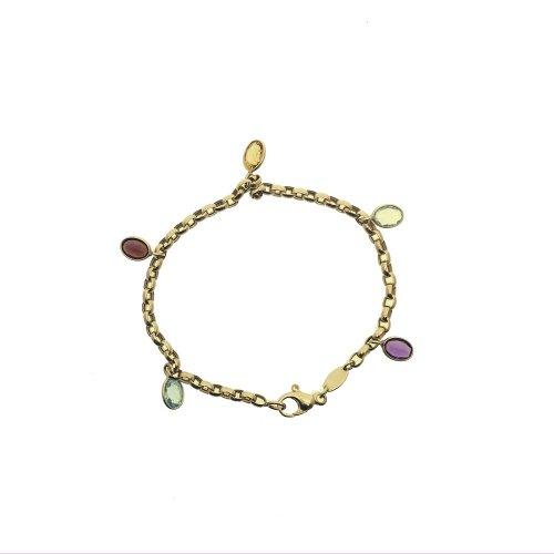 Multicolored Stone Bracelet (GC-1078)