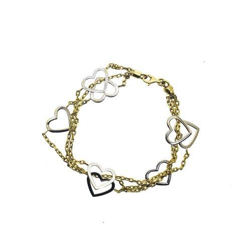 Linking Heart Bracelet (GC-1082)