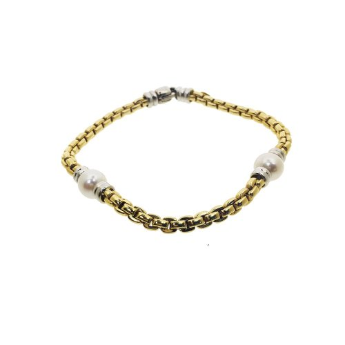 Pearl and Link Bracelet (GC-1083)