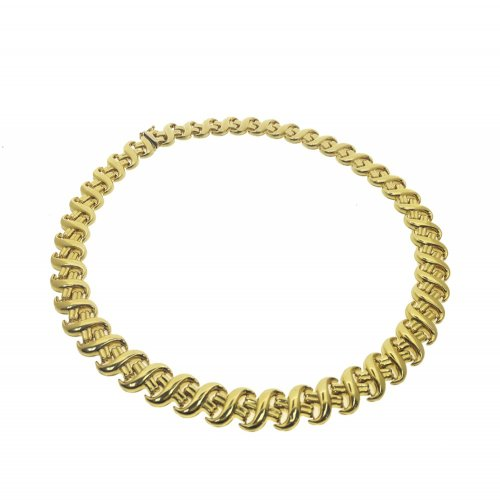 Gold Link Necklace (GC-1088)