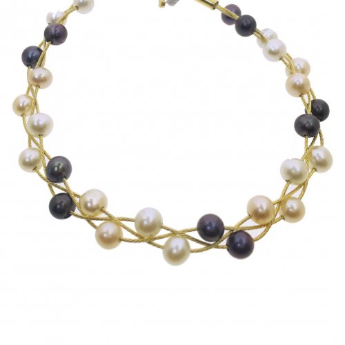 Linking Pearl Bracelet(GB-1090)