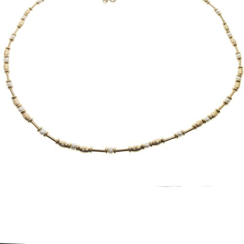 Bar+ Pearl Necklace (GC-1094)