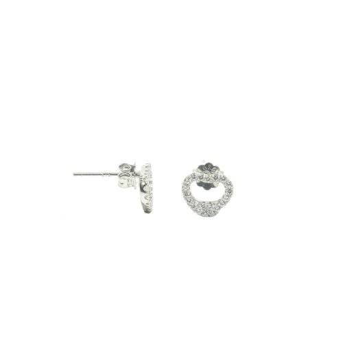 CZ Tiffany Inspired Heart Shaped Studs (ST-1287)