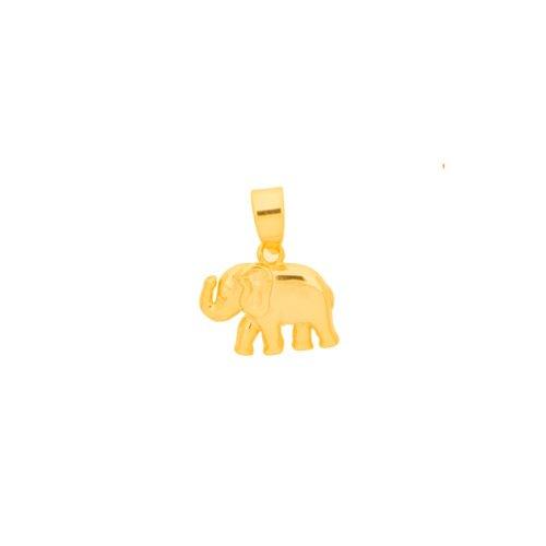 Sterling Silver Elephant Pendant(P-1409)