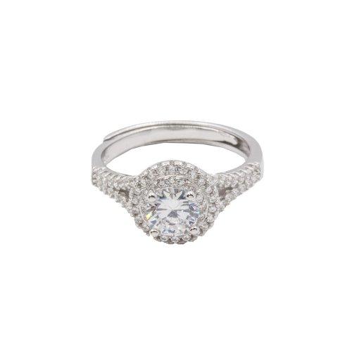 Halo CZ Ring (R-1352)