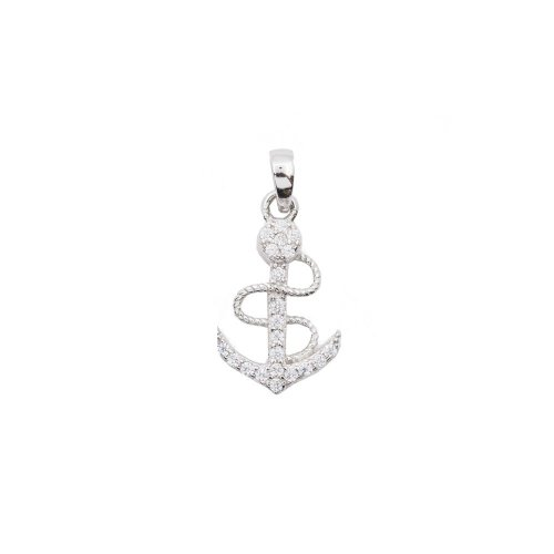 Fancy CZ Anchor (P-1400)