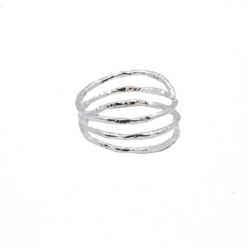 Hammered Wrap Ring (R-1432)