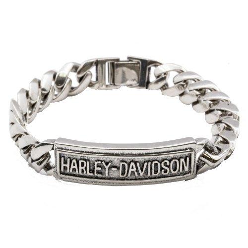 Sterling Silver GD Harley Davidson Bracelet (BR-1230)
