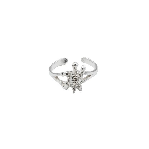 Sterling Silver Turtle Toe Ring (TR-1030)