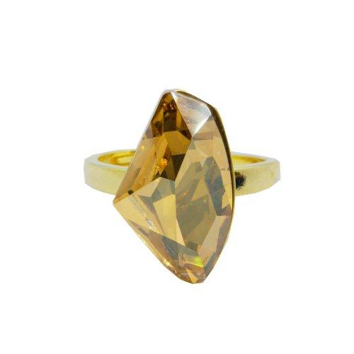 Sterling Silver Swarovski Stone Ring (R-1453)