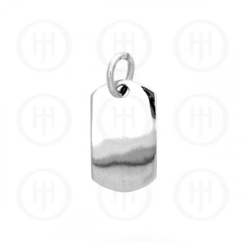 Sterling Silver Dog-Tag Pendant (DT-101)