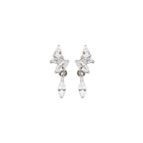 Sterling Silver Assorted CZ Studs (ST-1431)