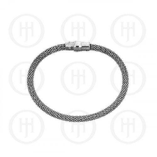 Sterling Silver Magnetic Bracelet 5mm (MB-1005)