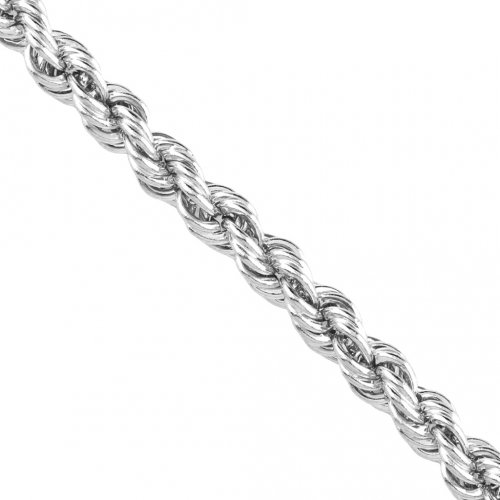 Silver Basic Chain Rope Hollow 8MM (HROPE-150)