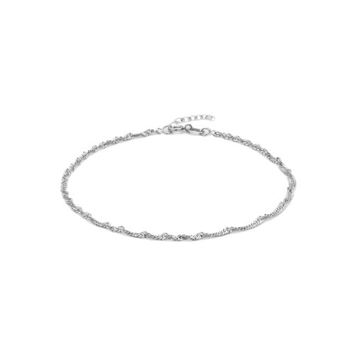 Silver Plain Anklet Singapore 2.5mm (ANK-1083)