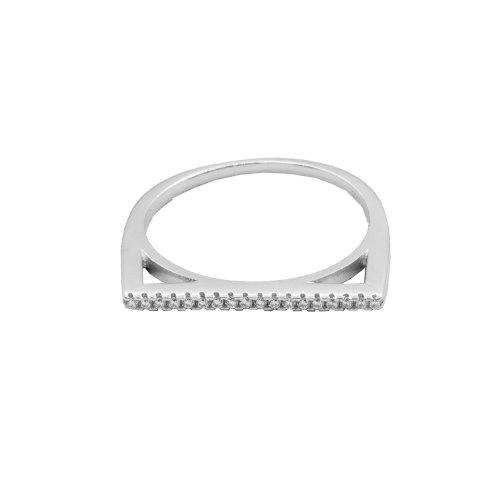 CZ Bar Ring (R-1542)