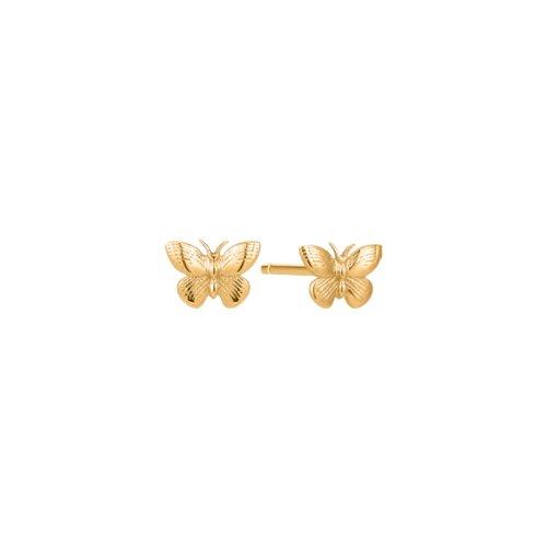 10K Gold Papillon Studs (GE-10-1099)
