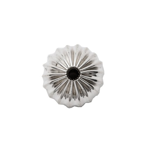 Sterling Silver Round Fluted Bead 7mm (BD-FL-7)