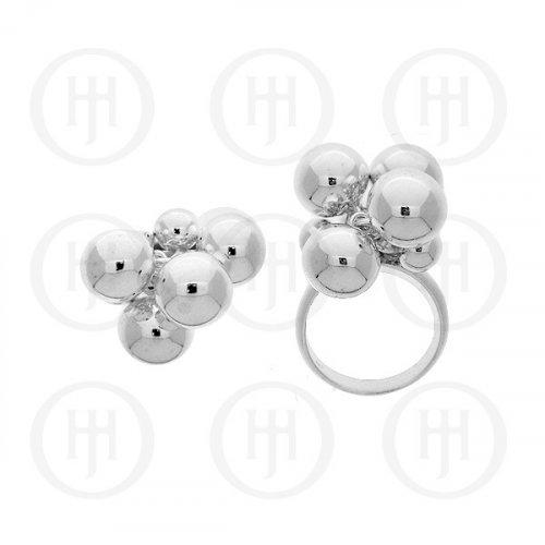 Silver Plain Ring PRI003