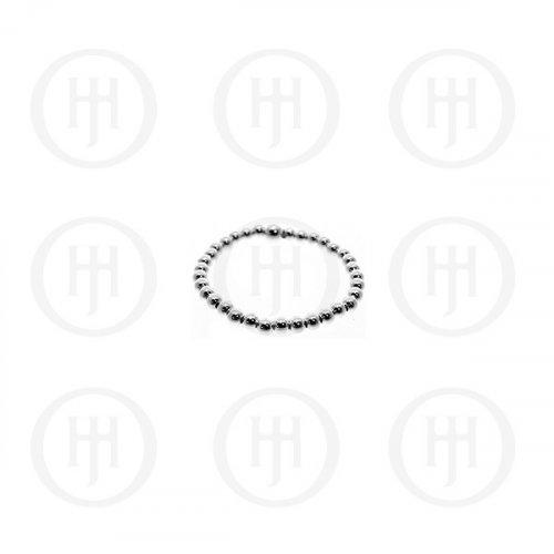 Silver Plain Sleeper Ring (R-1138)