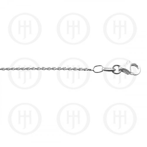 Silver Plain Anklet Rope 2mm (ANK-1012)