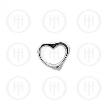 Silver Heart Pendant (P-1031)