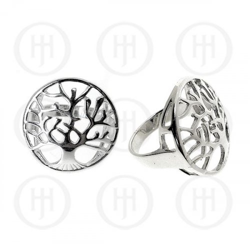 Sterling Silver Tree of Life Ring (R-1015)