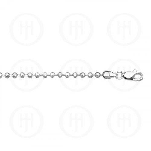 Silver Basic Chain Ball 03 (BALL-3) 3.0mm