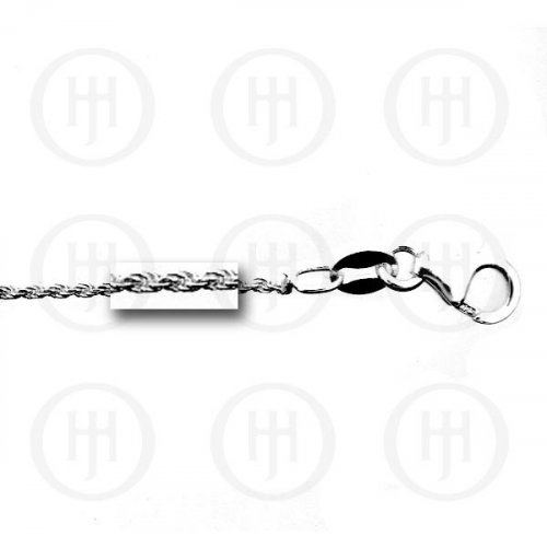 Silver Basic Chain Rope 1.0mm (ROPE25)