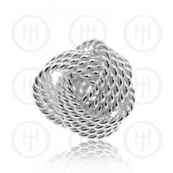 Ribbon Love Knot Pendant (P-1309)