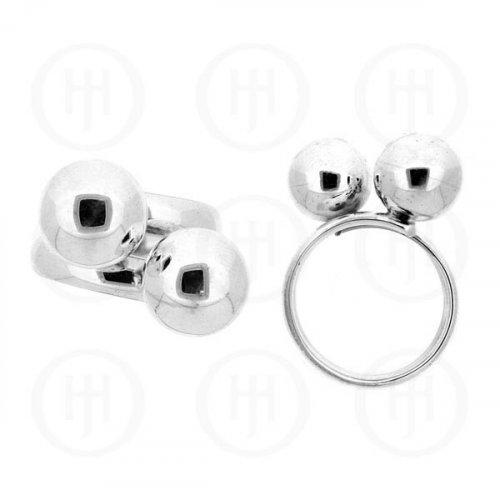 Silver Plain Ring (R-1120)