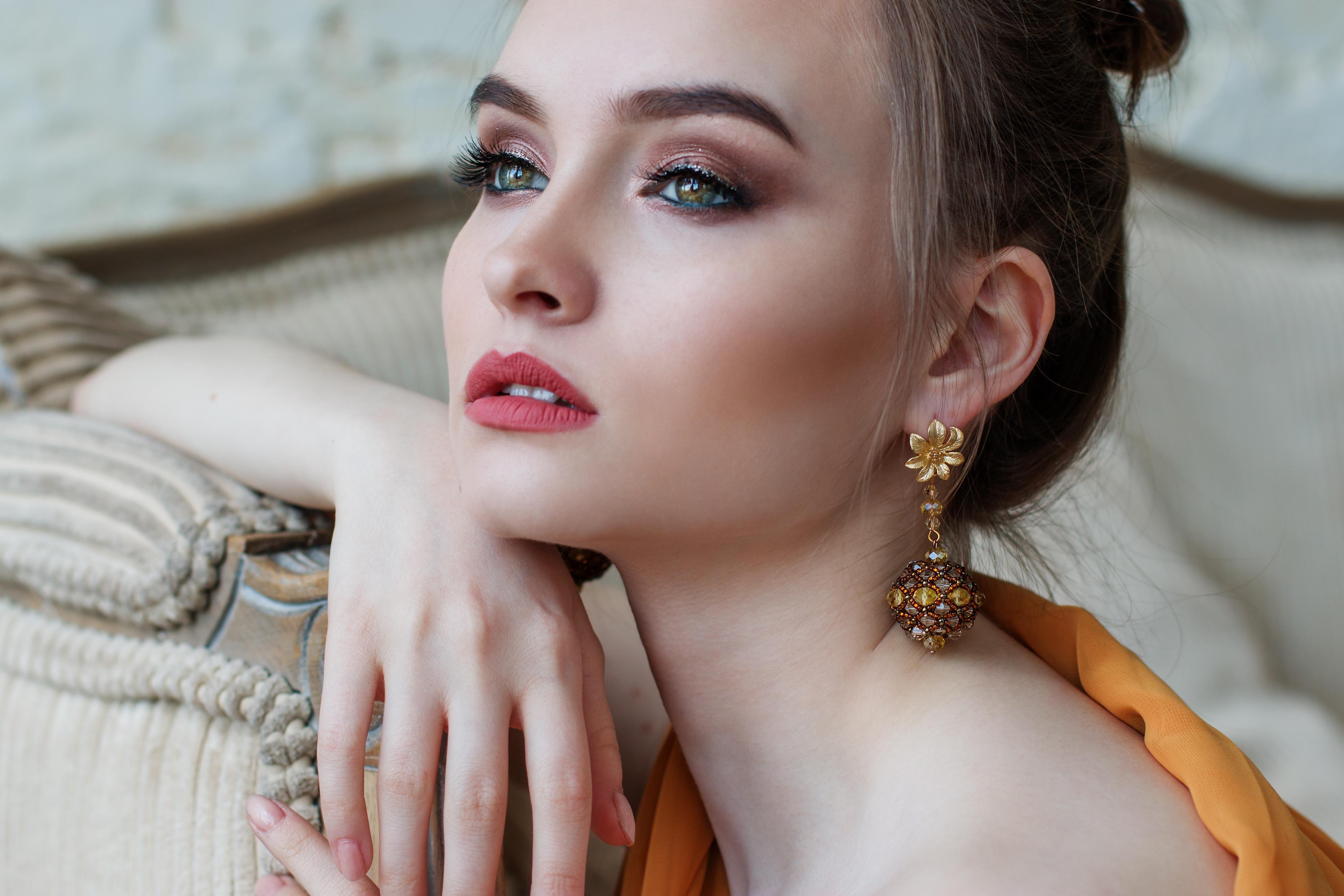 drop chain earrings trends
